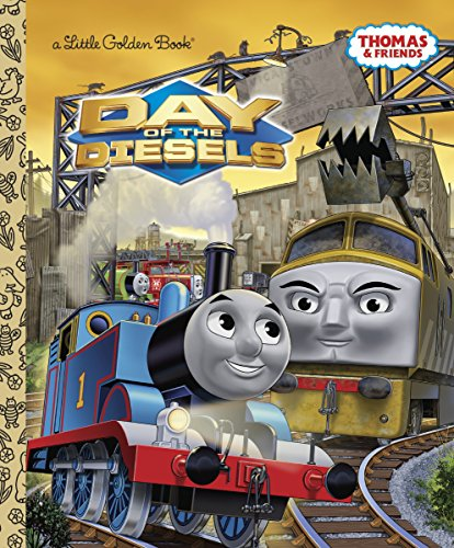 9780307929891: Day of the Diesels (Little Golden Books)