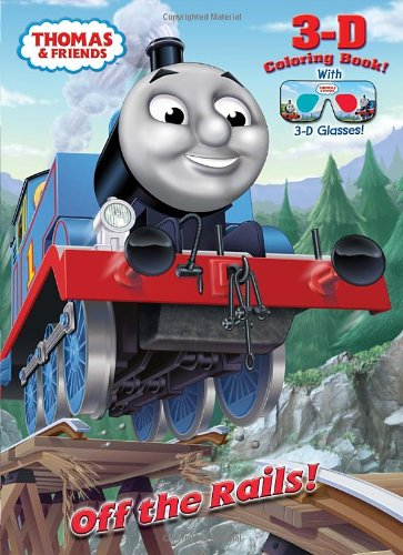 9780307929921: Off the Rails! (Thomas & Friends) (3-D Book)