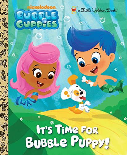 9780307930286: It's Time for Bubble Puppy! (Little Golden Books)
