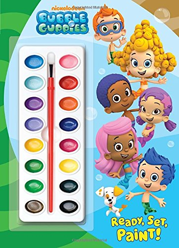 9780307930316: Ready, Set, Paint! (Nickelodeon Bubble Guppies)