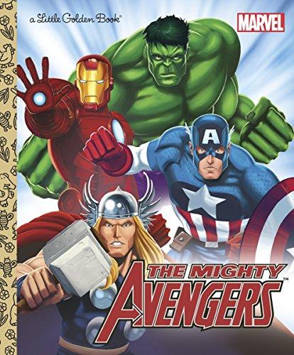 9780307931092: The Mighty Avengers (Marvel: The Avengers) (Little Golden Books)