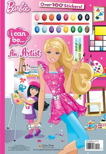 9780307931283: I Can Be an Artist (Barbie)