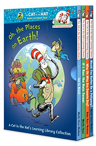 9780307931399: Oh, the Places on Earth! A Cat in the Hat's Learning Library Collection (Cat in the Hat Knows a Lot About That!: Cat in the Hat's Learning Library)