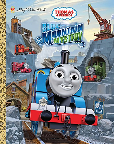 Thomas & Friends: Blue Mountain Mystery (Big Golden Books)