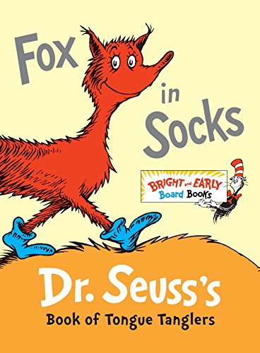 9780307931801: Fox in Socks: Dr. Seuss's Book of Tongue Tanglers (Bright and Early Board Books)
