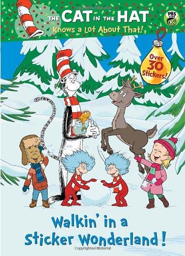 Walkin' in a Sticker Wonderland! (Dr. Seuss/Cat in the Hat) (Hologramatic Sticker Book): ...
