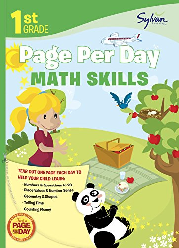 9780307944603: First Grade Page Per Day:: Math Skills