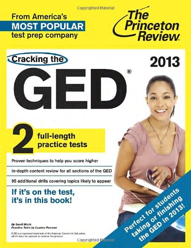 9780307944856: Cracking the GED, 2013 Edition (College Test Preparation)