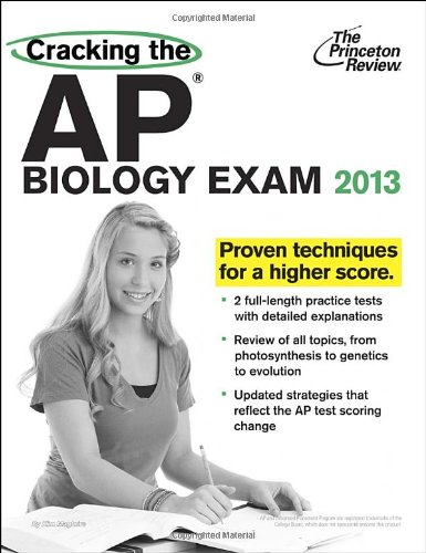 9780307945082: Cracking the AP Biology Exam, 2013 Edition (College Test Preparation)
