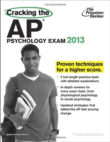 9780307945174: Cracking the AP Psychology Exam, 2013 Edition (College Test Preparation)