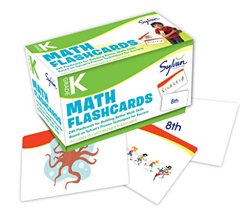 Kindergarten Math Flashcards (Flashcards Math): Sylvan Learning