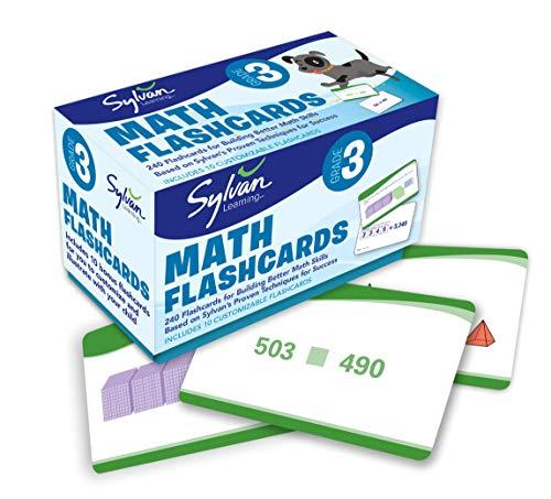 9780307945495: 3rd Grade Math Flashcards: 240 Flashcards for Improving Math Skills Based on Sylvan's Proven Techniques for Success (Sylvan Math Flashcards)