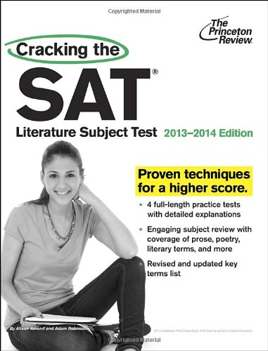 9780307945532: Cracking the SAT Literature Subject Test 2013-2014