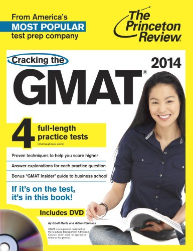 9780307945662: Cracking the GMAT, 2014