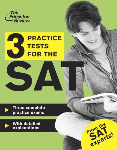 9780307946027: 3 Practice Tests for the SAT