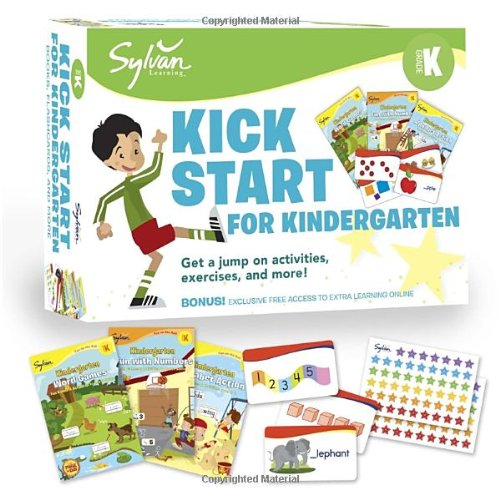9780307946133: Sylvan Kick Start for Kindergarten (Language Arts Bundles)
