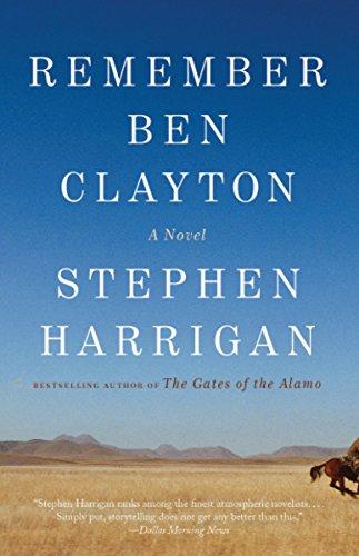 Remember Ben Clayton: Harrigan, Stephen