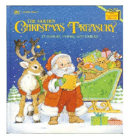9780307955852: The Golden Christmas Treasury: 25 Stories, Poems, and Carols
