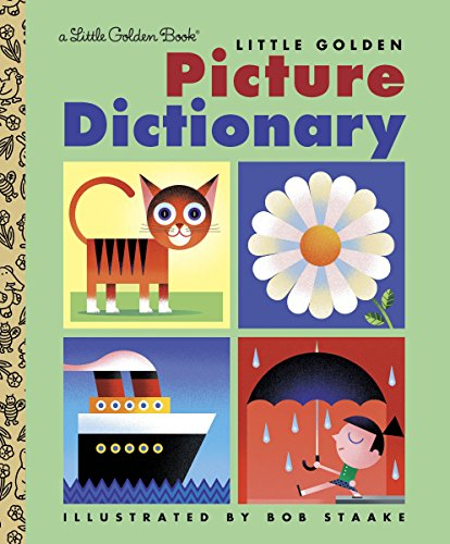 9780307960351: Little Golden Picture Dictionary