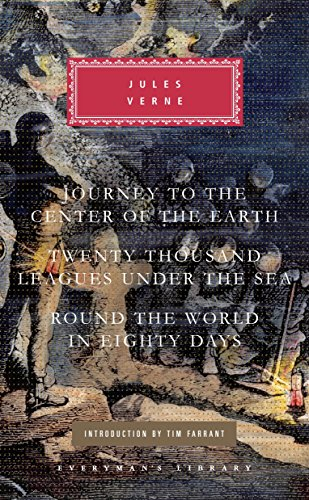 Three Novels: Journey to the Center of: Verne, Jules
