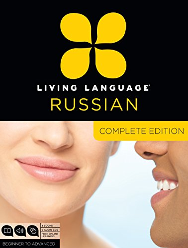 9780307972101: Living Language Russian, Complete Edition: Beginner through advanced course, including 3 coursebooks, 9 audio CDs, and free online learning