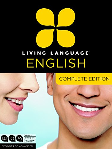 9780307972347: Living Language English, Complete Edition (ESL/ELL): Beginner through advanced course, including 3 coursebooks, 9 audio CDs, and free online learning