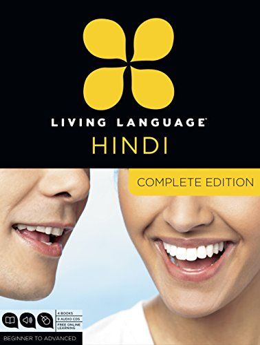 9780307972415: Living Language Hindi, Complete Edition: Beginner through advanced course, including 3 coursebooks, 9 audio CDs, Hindi reading & writing guide, and free online learning