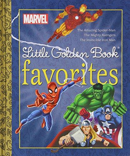 Marvel Heroes Little Golden Book Favorites #1 Marvel