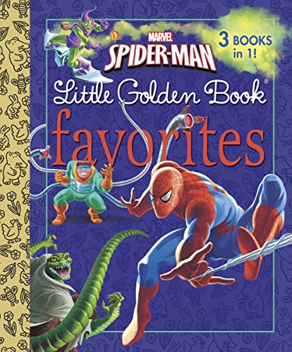 MARVEL SPIDER-MAN LG 9780307976598 Marvel Spider-Man Little Golden Book Favorites collects three Spider-Man Little Golden Books into one hardcover book—a $15.00 value for just $7.99. Boys and girls ages 2 to 5 are sure to love these action-packed stories featuring the Amazing Spider-Man!