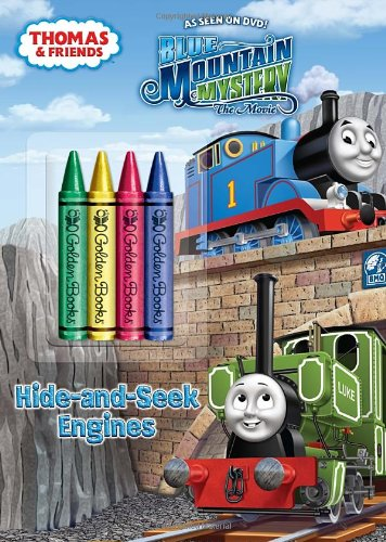 9780307976727: Thomas & Friends: Hide-And-Seek Engines [With 4 Chunky Crayons]
