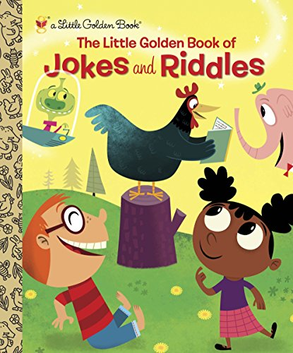 9780307979162: The Little Golden Book of Jokes and Riddles