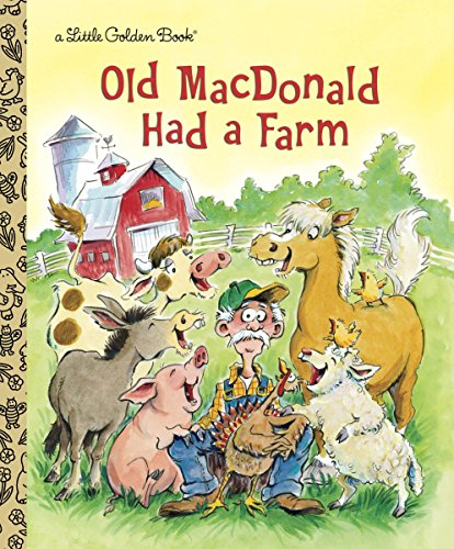 9780307979643: Old MacDonald Had a Farm (Little Golden Book)