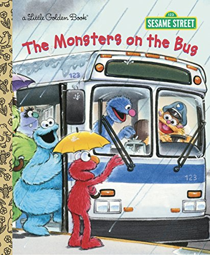 9780307980588: The Monsters on the Bus (Sesame Street) (Little Golden Book)