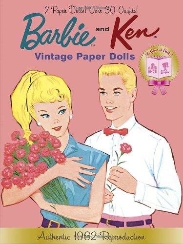 9780307980915: Barbie and Ken Vintage Paper Dolls (Barbie) (Paper Doll Book)