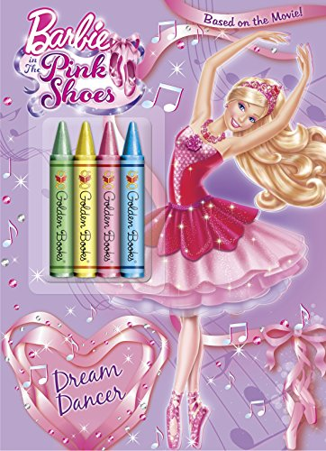 Dream Dancer (Barbie) (Color Plus Chunky Crayons): Man-Kong, Mary