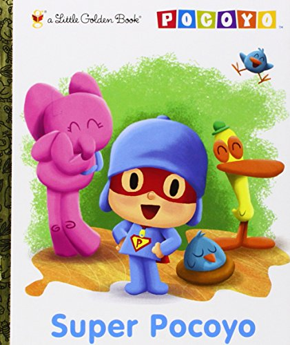 9780307981608: Super Pocoyo (Pocoyo) (Little Golden Book)
