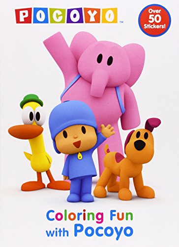 9780307981622: Coloring Fun with Pocoyo (Pocoyo)