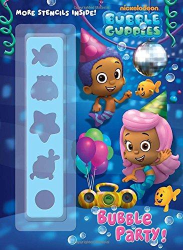 9780307982056: Bubble Party! (Bubble Guppies) (Color Plus Stencil)