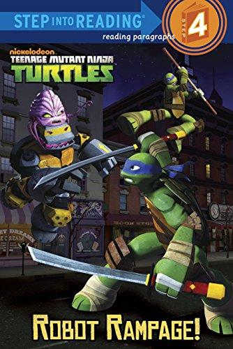 9780307982124: Robot Rampage! (Teenage Mutant Ninja Turtles) (Step into Reading)