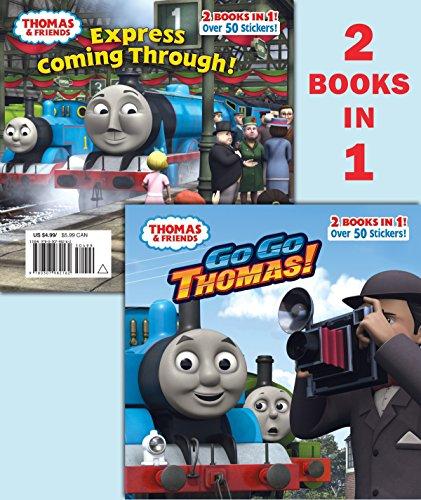 9780307982162: Go Go Thomas!/Express Coming Through! (Thomas & Friends) (Pictureback(R))