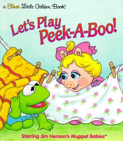 Let's Play Peek-A-Boo (First Little Golden Book) (0307987612) by David Prebenna