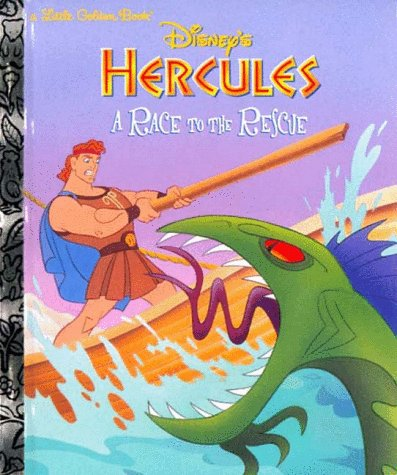 9780307988010: Disney's Hercules: A Race to the Rescue (Little Golden Book)