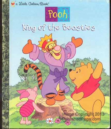 9780307988201: King of the Beasties (Pooh) (Little Golden Books)