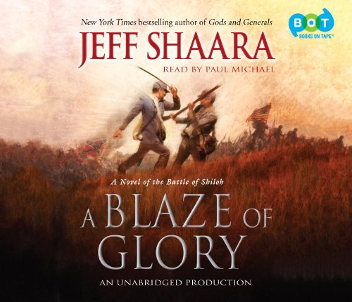 Blaze of Glory, a (Lib)(CD): Shaara, Jeff