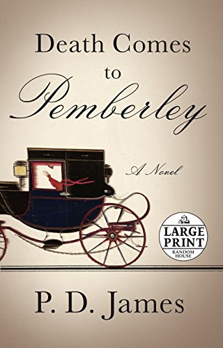 9780307990785: Death Comes to Pemberley (Random House Large Print)