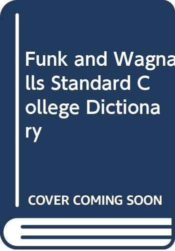 9780308103092: Funk and Wagnalls Standard College Dictionary
