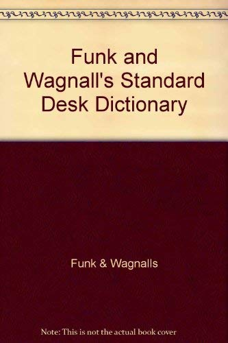 9780308103535: Funk and Wagnall's Standard Desk Dictionary