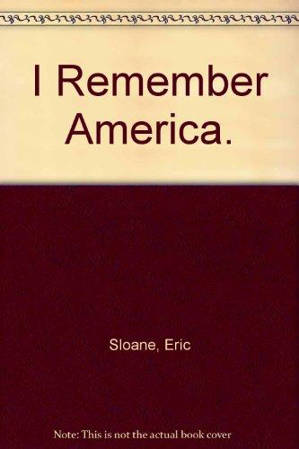 9780308700116: I Remember America.