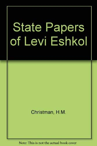 9780308702875: State Papers of Levi Eshkol
