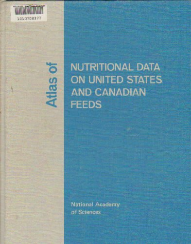 9780309019194: Atlas of Nutritional Data on United States and Canadian Feeds